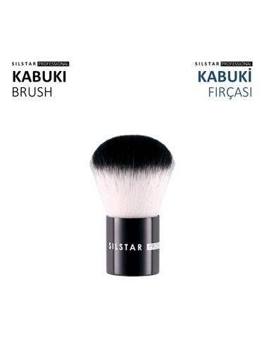 Silstar Kabuki Brush - Çok Amaçlı Kabuki Fırça Renksiz